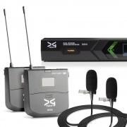 میکروفن بی سیم دو یقه ای دیجی تک DG Tech D600
