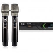 میکروفن بی سیم دو دستی دیجی تک DG Tech D602