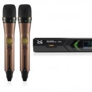میکروفن بی سیم دو دستی دیجی تک DG Tech D604