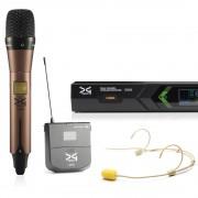 میکروفن بی سیم دستی و هدمیک دیجی تک DG Tech D600