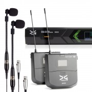 قیمت میکروفن بی سیم دو کانال ساز بادی دیجی تک DG Tech D6065