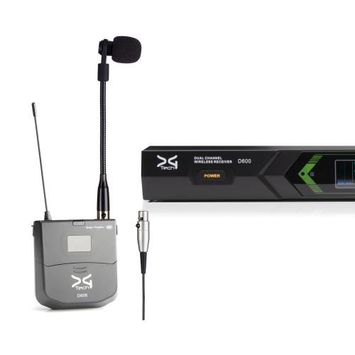 میکروفن بی سیم ساز بادی دیجی تک DG Tech D600