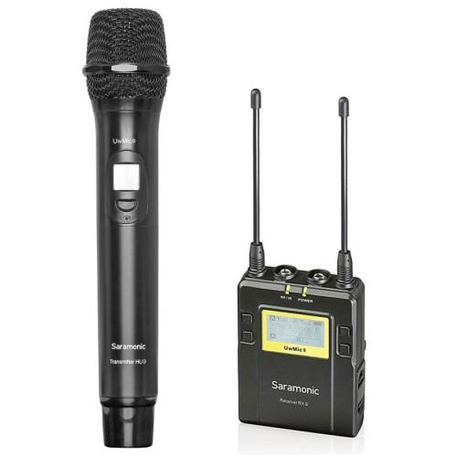 میکروفن بی سیم دستی سارامونیک Saramonic UwMic9 Kit 4