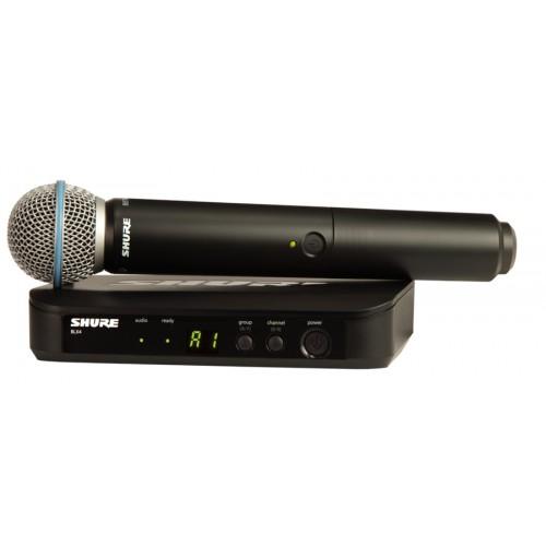 میکروفن بی سیم دستی شور SHURE BLX24/BETA58