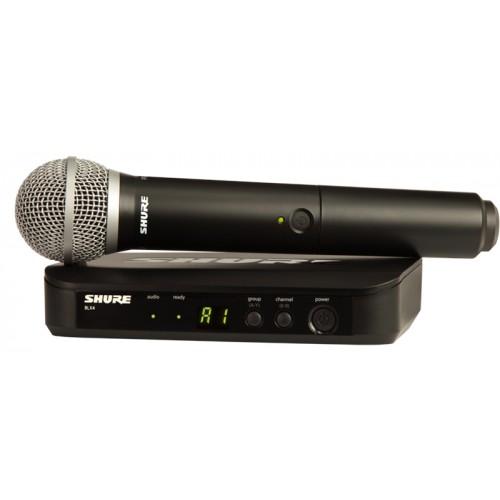 میکروفن بی سیم دستی شور SHURE BLX24/PG58