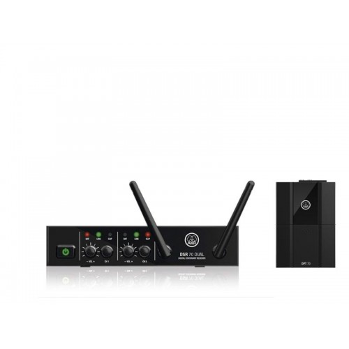 میکروفن بی سیم یقه ای تک کانال آکاجی AKG DMS70