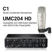 قیمت پکیج C1 + UMC204