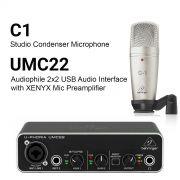 قیمت پکیج C1 + UMC22
