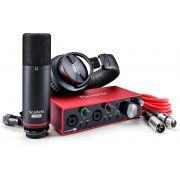 قیمت کارت صدا فوکوسرایت Focusrite Scarlett 2i2 Studio 3rd Gen Recording Bundle