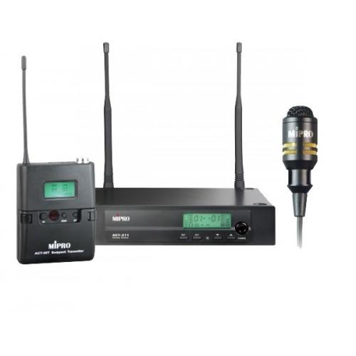 میکروفن بی سیم یقه ای مای پرو MIPRO ACT-311/ACT-30T/MU-53L