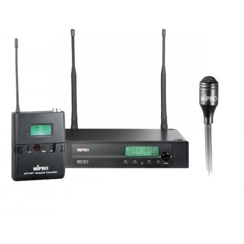 میکروفن بی سیم یقه ای مای پرو MIPRO ACT-311/ACT-30T/MU-55L