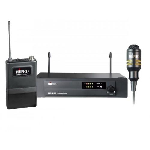 میکروفن بی سیم یقه ای مای پرو MIPRO MR-818/MT-801A/MU-55L