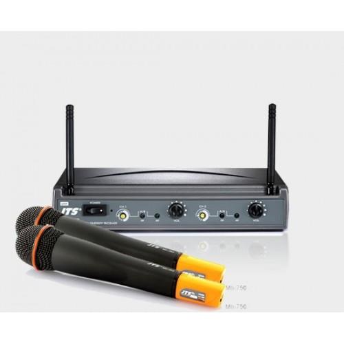 میکروفن بی سیم دو دستی جی تی اس JTS US8002/MH750