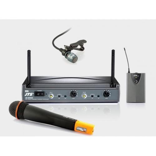 میکروفن بی سیم دستی و یقه ایجی تی اس JTS US8002/MH750/PT850+CM501