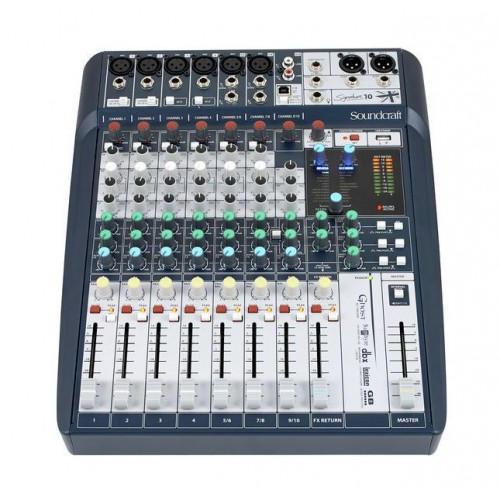 میکسر ساند کرافت Soundcraft Signature 10
