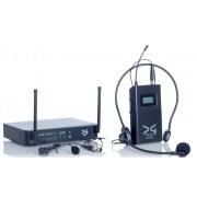 میکروفن بی سیم یقه ای و هدمیک دیجی تک DG Tech D300p