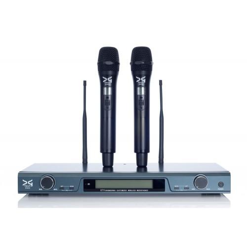 میکروفن بی سیم دودستی دیجی تک DG Tech D502