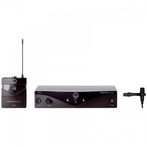 میکروفن بی سیم یقه ای آکاجی AKG Perception WMS 45 Presenter Set