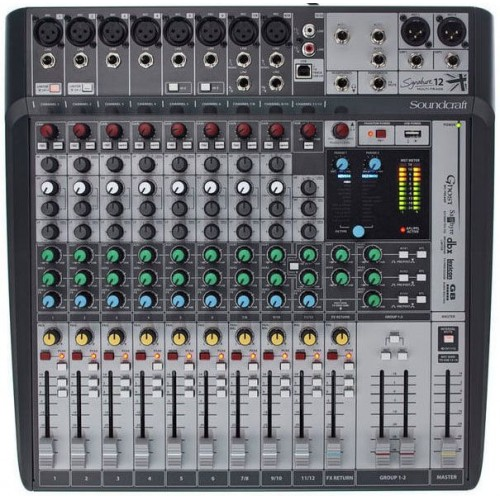 میکسر ساندکرافت Soundcraft Signature 12MTK