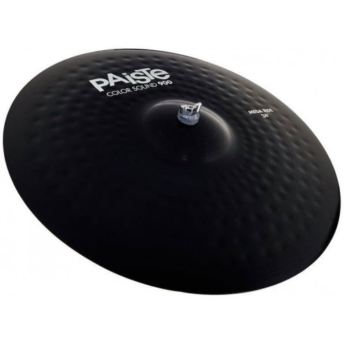 "سنج پایست PAISTE 24"" COLOR SOUND 900 BLACK MEGA RIDE"