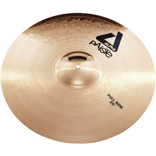 """سنج پایست PAISTE 20"""" Alpha Brilliant Cymbal Full Ride"""