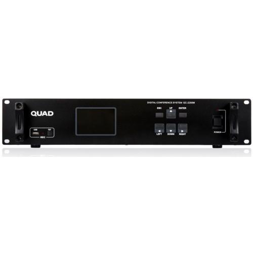 سیستم کنفرانس کنترلر مرکزی QUAD QC2200M