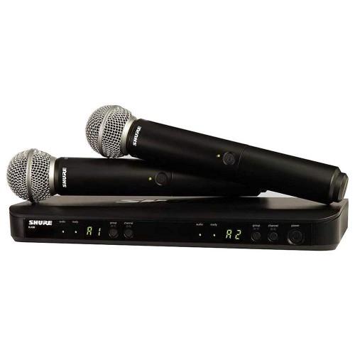 میکروفن بی سیم دستی شور SHURE BLX288 SM58