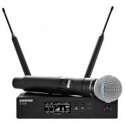 میکروفن بی سیم دستی شور SHURE QLXD24/BETA58