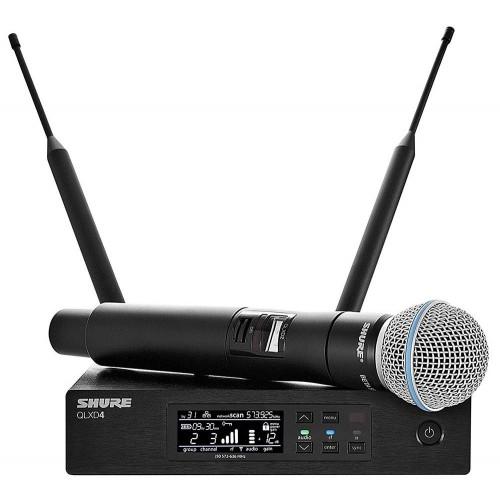 میکروفن بی سیم دستی شور SHURE QLXD24 BETA58
