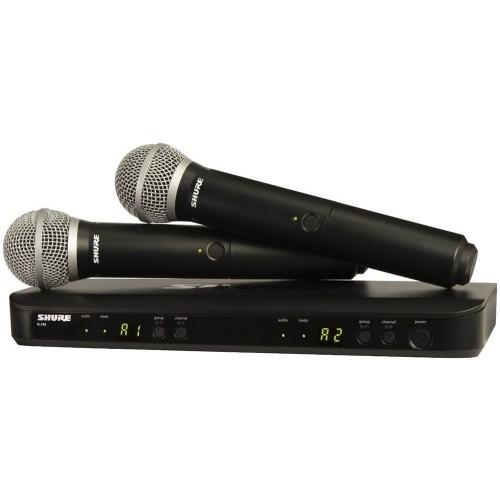 میکروفن هدمیک شور SHURE BLX288/PG58