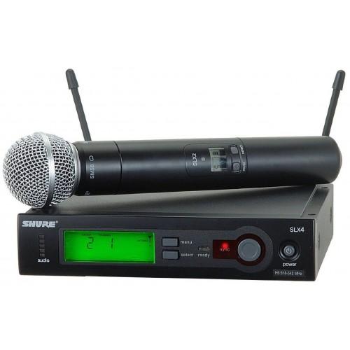 میکروفن بی سیم دستی شور SHURE SLX24/SM58