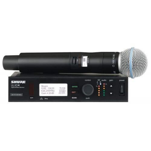 میکروفن بی سیم دستی شور SHURE ULXD24/BETA58