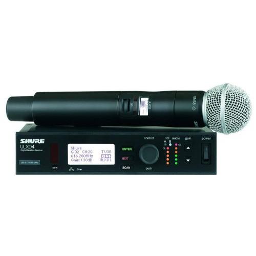 میکروفن بی سیم دستی شور SHURE ULXD24/SM58