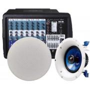 قیمت سیستم صوتی PMX700 + NS-IC600