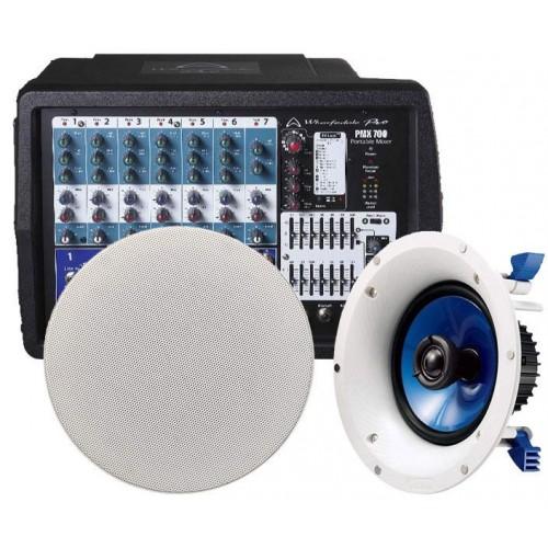 سیستم صوتی PMX700 + NS-IC600