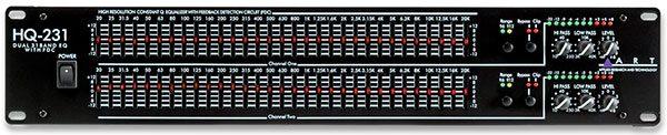 پاسخ فرکانسی اکولایزر  Equalizer frequency response