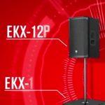 تیزر بلندگوی الکتروویس سری EKX