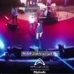 صدا برداری کنسرت فرزاد فرزین در آبنما موزیکال جزیره کیش