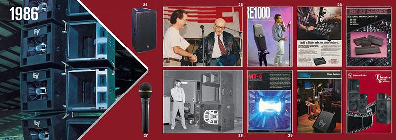 تاریخچه ELECTRO VOICE