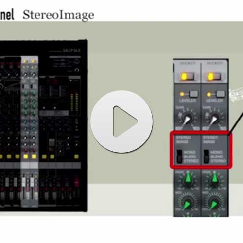 بررسی تکنولوژی Hybrid Channel Stereo بر روی میکسر سری MGP یاماها